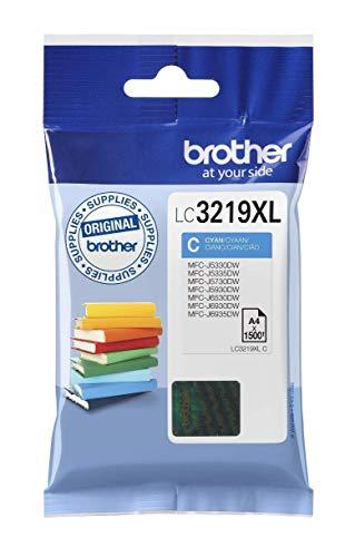 Brother Original XL-Tintenpatrone LC-3219XLC cyan (für Brother MFC-J5330DW, MFC-J5335DW, MFC-J5730DW, MFC-J5930DW, MFC-J6530DW, MFC-J6930DW, MFC-J6935DW)